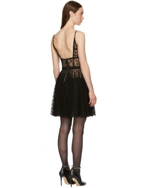 photo Black Fitted Bodice Dress by Alexander Wang - Image 3