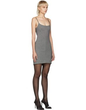 photo Grey Tailored Mini Dress by Alexander Wang - Image 2