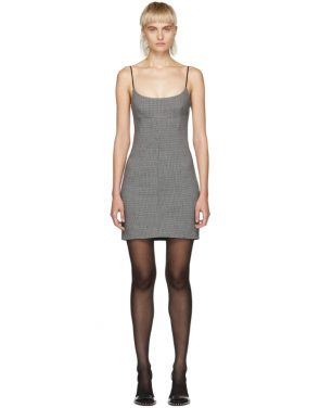 photo Grey Tailored Mini Dress by Alexander Wang - Image 1