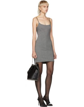 photo Grey Tailored Mini Dress by Alexander Wang - Image 5