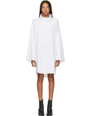photo White Turtleneck Dress by MM6 Maison Martin Margiela - Image 1