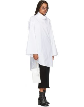 photo White Turtleneck Dress by MM6 Maison Martin Margiela - Image 5
