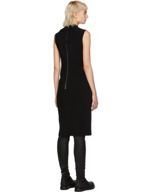 photo Black Bonnie Dress by Rick Owens - Image 3