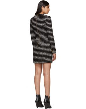 photo Black and White Striped Dress by Balmain - Image 3