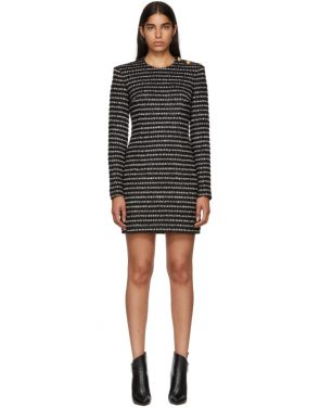 photo Black and White Striped Dress by Balmain - Image 1