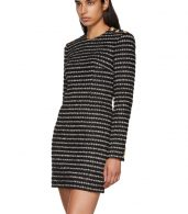 photo Black and White Striped Dress by Balmain - Image 4