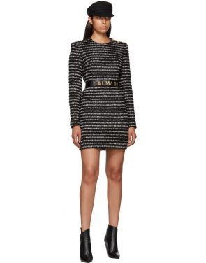 photo Black and White Striped Dress by Balmain - Image 5