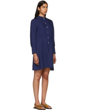photo Indigo Kimya Dress by A.P.C. - Image 2