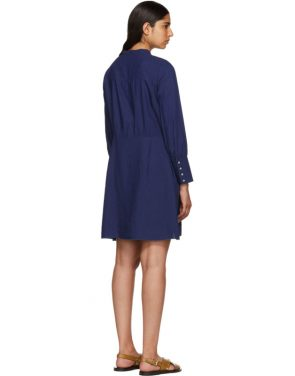 photo Indigo Kimya Dress by A.P.C. - Image 3