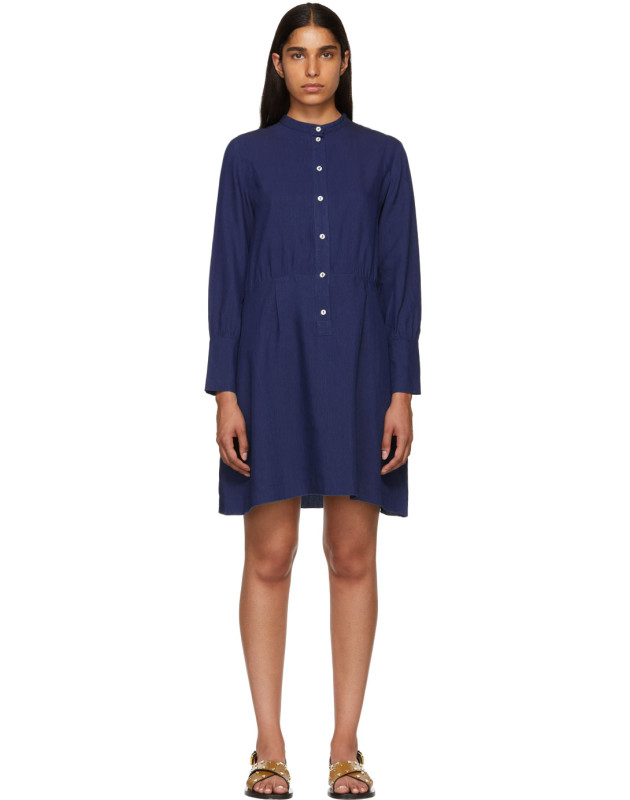 photo Indigo Kimya Dress by A.P.C. - Image 1