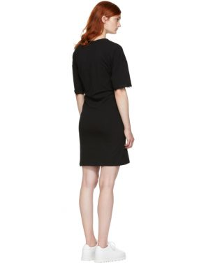 photo Black Hook and Eye T-Shirt Dress by Opening Ceremony - Image 3