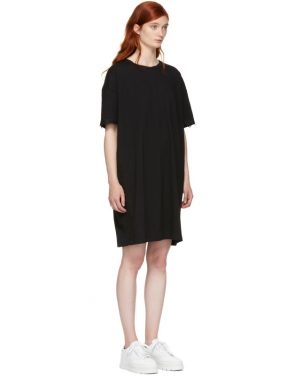 photo Black Hook and Eye T-Shirt Dress by Opening Ceremony - Image 4