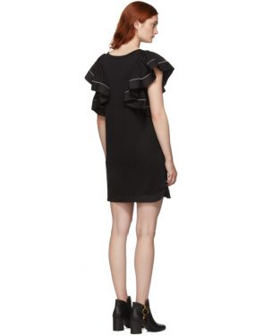 photo Black Ruffled Dress by See by Chloe - Image 3