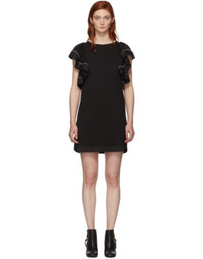 photo Black Ruffled Dress by See by Chloe - Image 1
