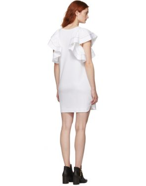 photo White Ruffled Dress by See by Chloe - Image 3