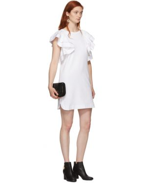 photo White Ruffled Dress by See by Chloe - Image 5