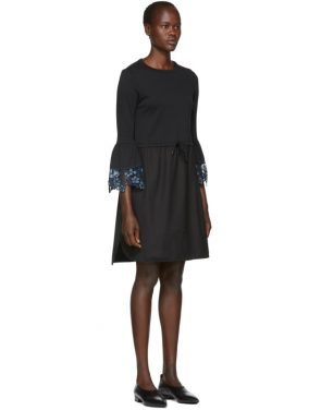 photo Black Detailed Cuff Dress by See by Chloe - Image 2
