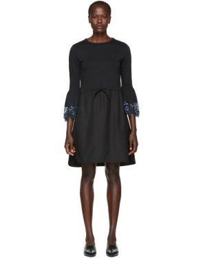 photo Black Detailed Cuff Dress by See by Chloe - Image 1