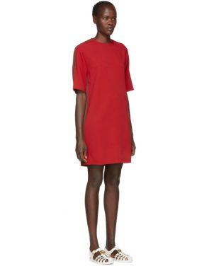 photo Red Webbing Tunic Dress by Gucci - Image 2