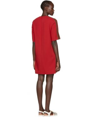 photo Red Webbing Tunic Dress by Gucci - Image 3