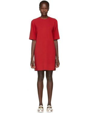 photo Red Webbing Tunic Dress by Gucci - Image 1