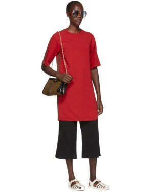 photo Red Webbing Tunic Dress by Gucci - Image 5