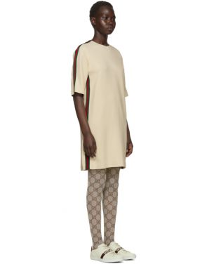 photo Off-White Webbing T-Shirt Dress by Gucci - Image 2