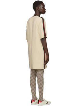 photo Off-White Webbing T-Shirt Dress by Gucci - Image 3