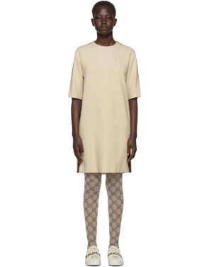 photo Off-White Webbing T-Shirt Dress by Gucci - Image 1