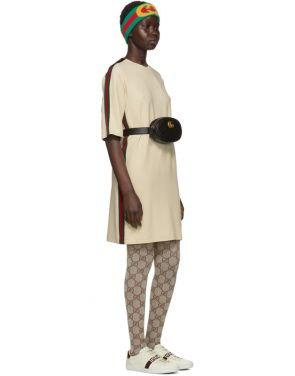 photo Off-White Webbing T-Shirt Dress by Gucci - Image 5