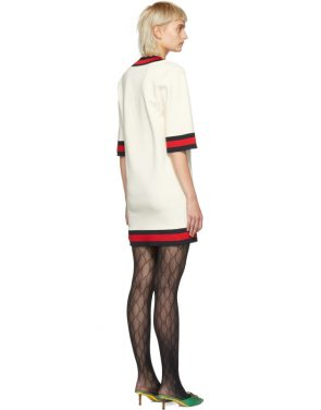 photo Off-White Short Webbing Dress by Gucci - Image 3