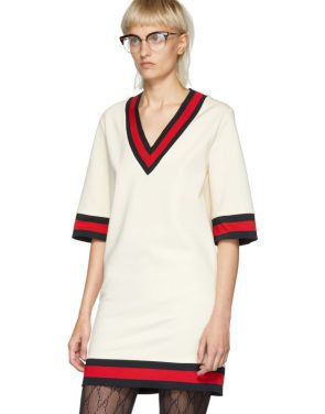 photo Off-White Short Webbing Dress by Gucci - Image 4