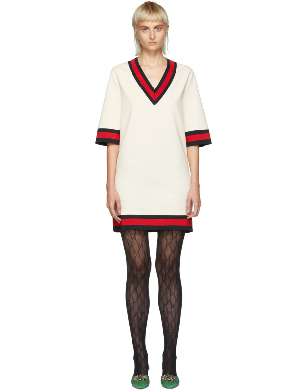 photo Off-White Short Webbing Dress by Gucci - Image 1