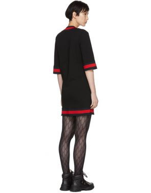 photo Black Short Webbing Dress by Gucci - Image 3