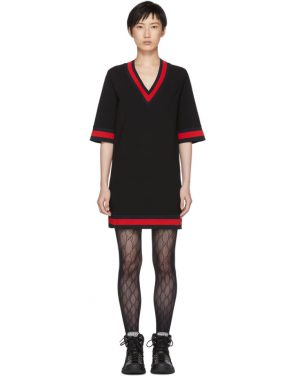 photo Black Short Webbing Dress by Gucci - Image 1