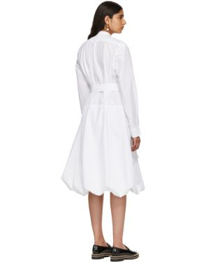 photo White Multi-Pocket Shirt Dress by JW Anderson - Image 3