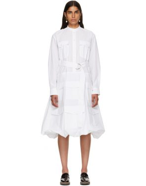 photo White Multi-Pocket Shirt Dress by JW Anderson - Image 1