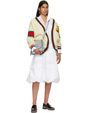 photo White Multi-Pocket Shirt Dress by JW Anderson - Image 5