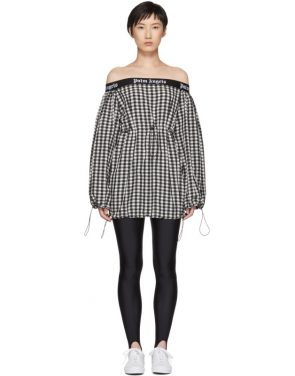 photo Black and White Balloon Dress by Palm Angels - Image 1