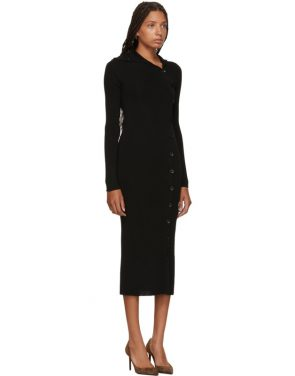 photo Black Merino Alaria Dress by Toteme - Image 2