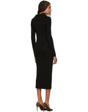 photo Black Merino Alaria Dress by Toteme - Image 3