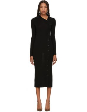 photo Black Merino Alaria Dress by Toteme - Image 1