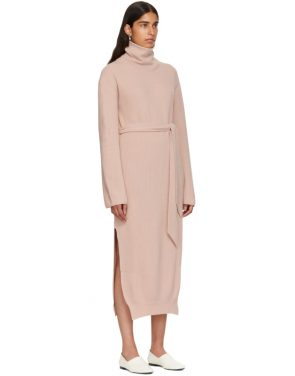 photo Pink Canaan Knit Turtleneck Dress by Nanushka - Image 2