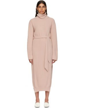 photo Pink Canaan Knit Turtleneck Dress by Nanushka - Image 1