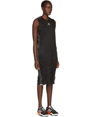 photo Black Track Tank Dress by adidas Originals by Alexander Wang - Image 2