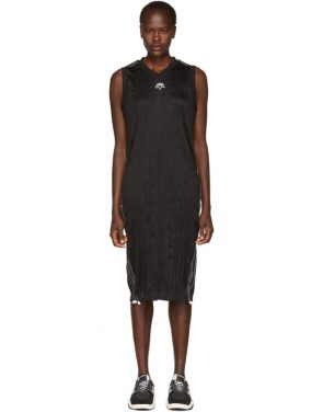 photo Black Track Tank Dress by adidas Originals by Alexander Wang - Image 1