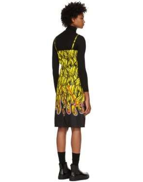 photo Multicolor Banana Strappy Short Dress by Prada - Image 3