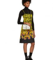 photo Multicolor Banana Strappy Short Dress by Prada - Image 5