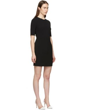 photo Black Fitted Dress by Dolce and Gabbana - Image 2