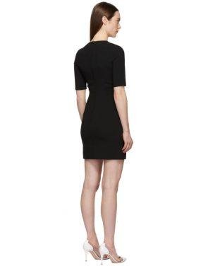 photo Black Fitted Dress by Dolce and Gabbana - Image 3